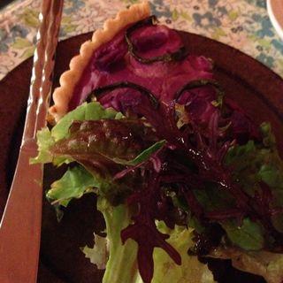 サツマイモのキッシュ(オーガニックキッチン&ワインバー レコッコレ )