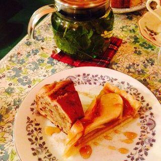 砂糖なしアップルパイ(オーガニックキッチン&ワインバー レコッコレ )