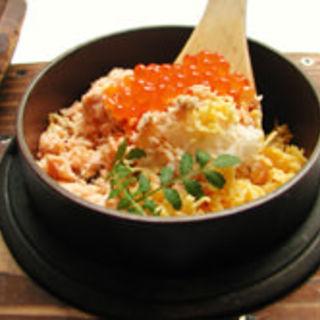鮭いくらの釜飯(gindachi (ギンダチ))