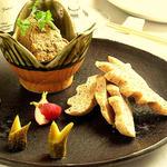 フォアグラと鶏レバーのリエット