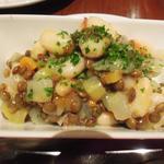 レンズ豆と白インゲンのサラダ