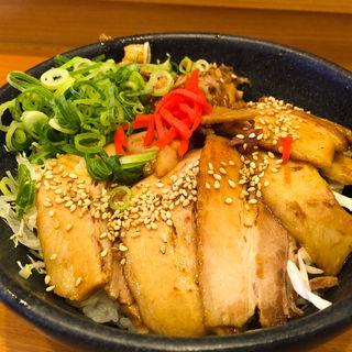 丼ガバチョ(並)(たかばしラーメン 京都南インター店 )