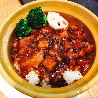 選べる飯・麺&点心セット(豚バラトロトロ煮込みのせご飯)(ディムジョイ (DIM JOY))