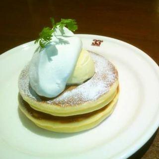 ホットケーキ モダン(サーティーサード珈琲)