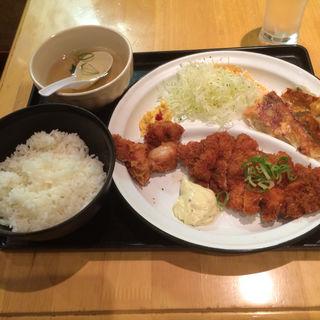 チキン南蛮定食(餃子工房 ちびすけ 阪急三番街店 )