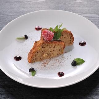 レアチーズケーキ (我や立川店)