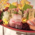 函館鮮魚お造り3種盛り合わせ