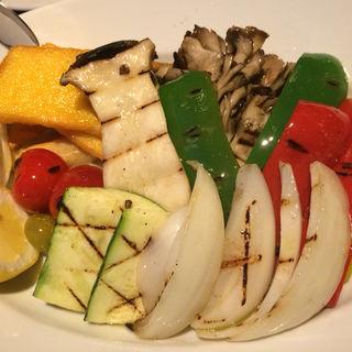 季節野菜ときのこのミックスグリル(ペッシェドーロ お台場店 (PESCE D'ORO))