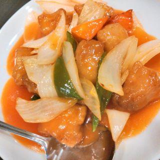 酢豚定食(中華料理 唐園 )