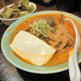 もつ煮込み定食(居酒屋釧路 )