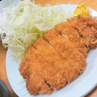 ロースカツ定食(山家)