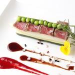国産牛フィレ肉のロースト 赤ワインソース(Ginsai 銀座 )