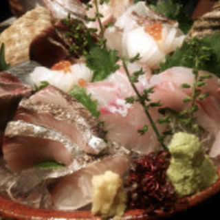 お刺身盛り合わせ(魚や 六蔵 六本木ヒルズ店 )