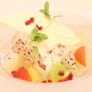リコッタチーズのアイス(イタリアンバル アクア )