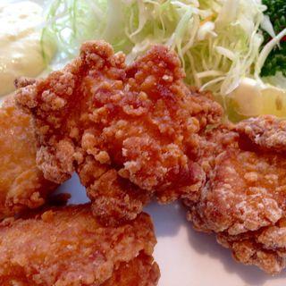 鶏の唐揚げ柚子胡椒風味(レストラン ようらく )