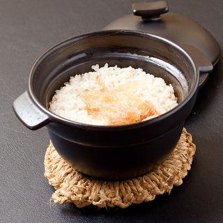キンキとフカヒレの土鍋御飯(銀波 新宿東口店 (GINPA))