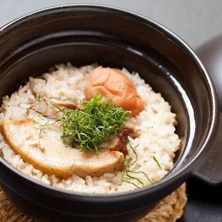 本日の土鍋御飯(銀波 新宿東口店 (GINPA))