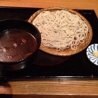 黒カレーつけそば(蕎麦屋 山都)