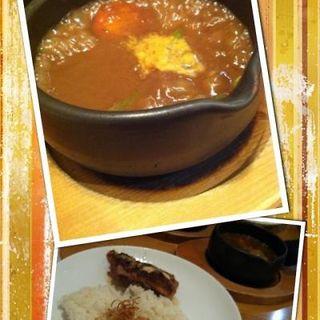チキンガーリック焼カレー(アジョワン)