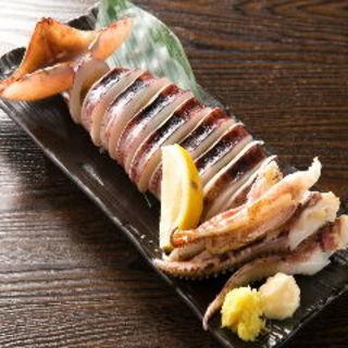 イカの丸焼き(居酒屋もりもり )