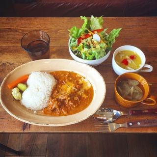 バターチキンカレーライス(minoi ts cafe)