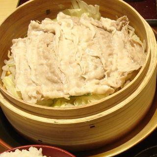 琉香豚と野菜のせいろ蒸し定食(DO-ZO (ドーゾ))