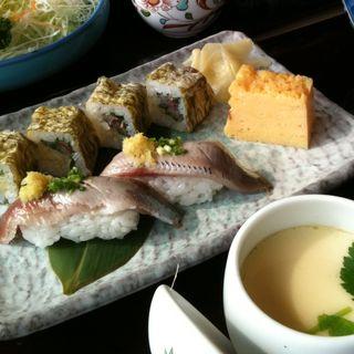 いわし・鮨そば(和食レストランとんでん 戸田店 )