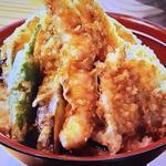 米福海鮮天丼あら汁付
