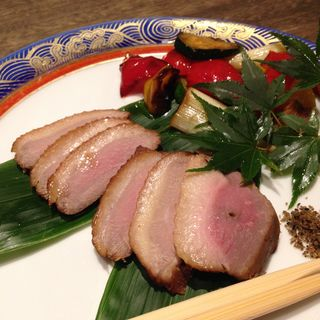 河内鴨の薫製タタキ(まりも亭 )