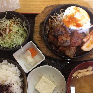サイコロステーキ定食(金太郎 )
