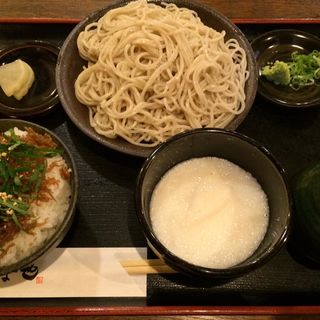 とろろ定食(ソば な也 (【旧店名】江戸そば水道筋店))