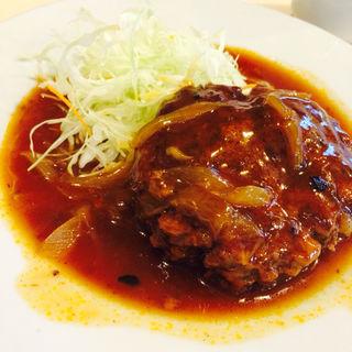煮込みハンバーグ定食(おなが鳥 )