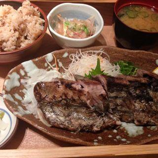 かつおの藁焼き定食(土佐清水ワールド )