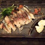 しめ鯖の薫製(Dining&Bar to.to )