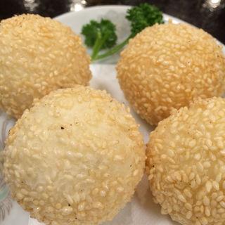 ゴマ団子(台湾客家料理 新竹 (タイワンハッカリョウリ・シンチク))