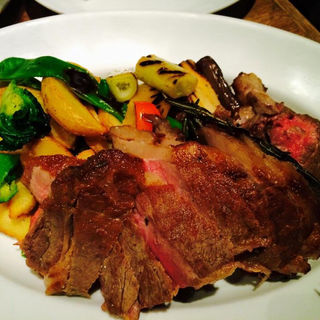 Tbone steak(PIZZA SALVATORE CUOMO & GRILL 京都 (ピッツァ サルヴァトーレ クオモ アンド グリル))