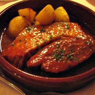 豚バラ肉のチリソース煮込み(カフェジャギ )