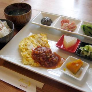 舌平目のピカタ(雑貨レストラン zenii (ゼニィ))