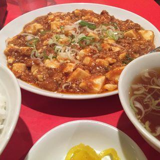 麻婆豆腐定食(中華宝香 )