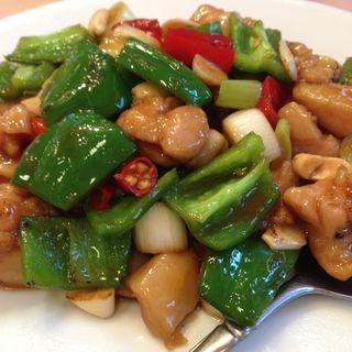 鶏肉とカシューナッツ炒め(萬来亭)