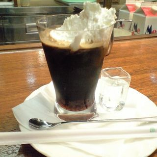 アイスアイリッシュコーヒー(珈琲舎 バン 伊勢丹会館店 (BUN))