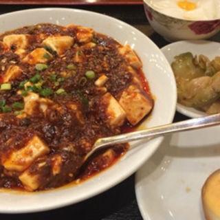 敦煌麻婆豆腐定食(敦煌 伊勢佐木町)