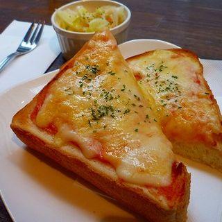 めんたいチーズトーストセット(カフェ ジンタ (Cafe Jinta))