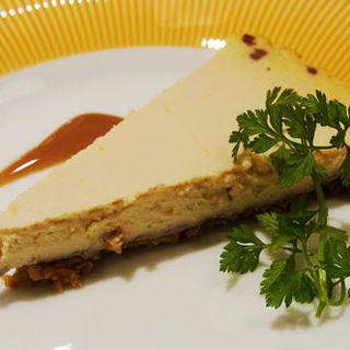 豆腐のチーズケーキセット(in The Room マクロビカフェ)