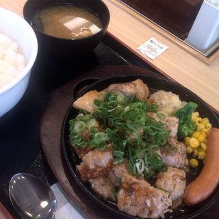 ガーリックチキンダブル(松屋 春日井店 )