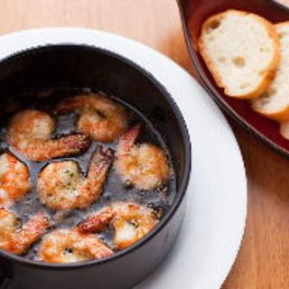 海老ときのこのアヒージョ(Italian Dining Vittoria 北千住店 (イタリアン ダイニング ヴィットリア))