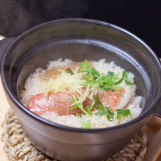 真鯛の土鍋御飯(銀波 新宿東口店 (GINPA))