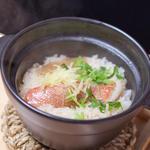 真鯛の土鍋御飯