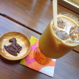 カフェラテ・クッキー(食卓OUMA)