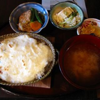 めんたいこドリアのセット(cafe紅)